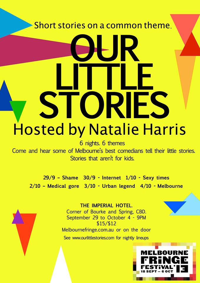 Our Little Stories opens Sunday!