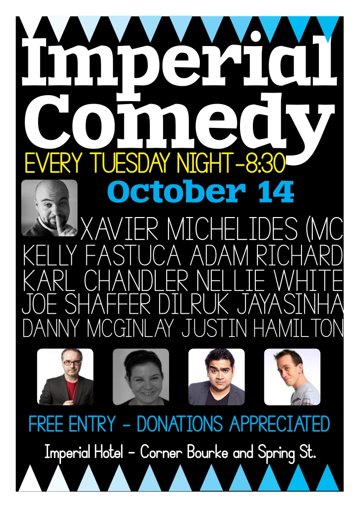 Imperial Comedy Oct 14